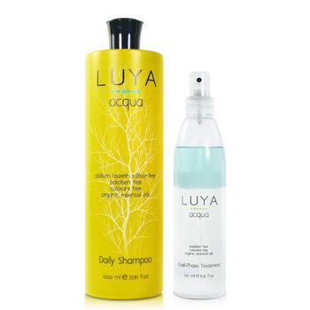 LUYA  Daily Shampoo 每日養護洗髮精(1000ml)-送護髮精華&紙袋
