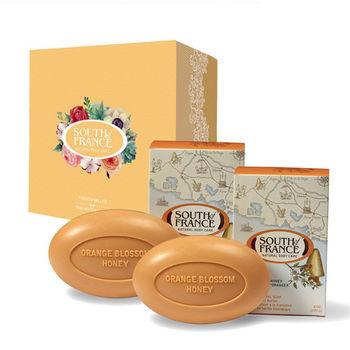 South of France 南法馬賽皂 橙花蜂蜜 馬卡龍手工皂禮盒組 170g(2入/盒)