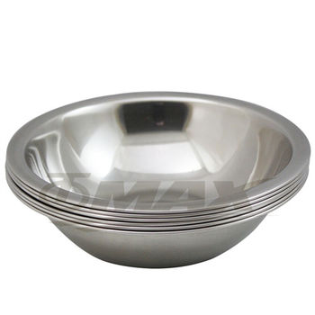 omax高級不銹鋼湯碗(21cm-大) 6入+保溫保冷袋1入(隨機出貨)