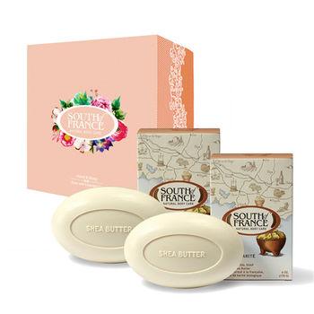 South of France 南法馬賽皂 乳木果油 馬卡龍手工皂禮盒組 170g(2入/盒)