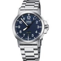 Oris BC3 Advanced 日曆星期機械腕錶~藍 42mm 73576414165