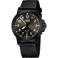 Oris BC3 Advanced 日曆星期機械腕錶 ^#45 鐵灰x黑 ^#47 42m