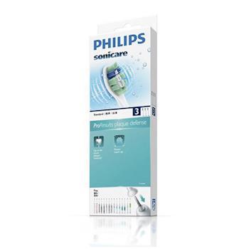 【飛利浦 PHILIPS 】清除牙菌斑刷頭HX9023 (3入裝)