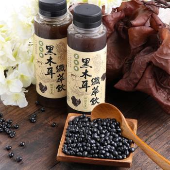 【愛上新鮮】黑木耳露12瓶 (黑豆)