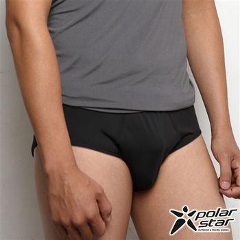PolarStar 男 X-Static® 銀纖維 汗快乾三角內褲 黑 P10167 清爽|柔軟|透氣