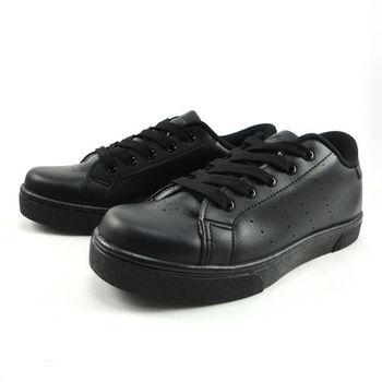 [SPEED]全黑色系休閒滑板鞋-MIO7626