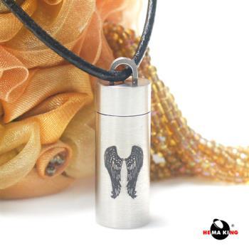 【HEMAKING】潘朵拉香水寶罐翅膀項鍊