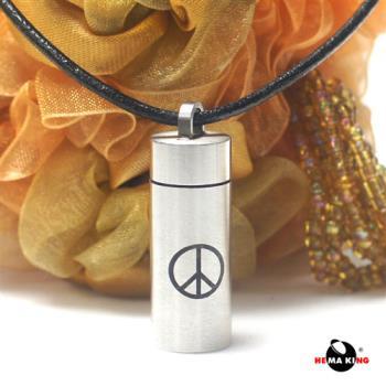 【HEMAKING】潘朵拉香水寶罐和平項鍊