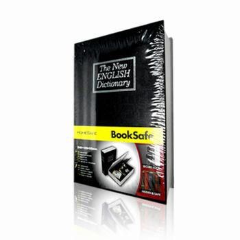 【守護者保險箱】仿真書本鑰匙鎖 保險箱 保險櫃 書本型保險箱 小型保險箱 存錢 收納箱 (黑色下單區)