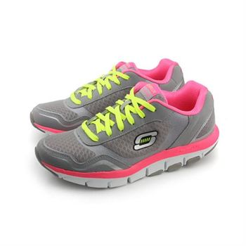 SKECHERS Air Cooled 運動鞋 灰 女款 no403