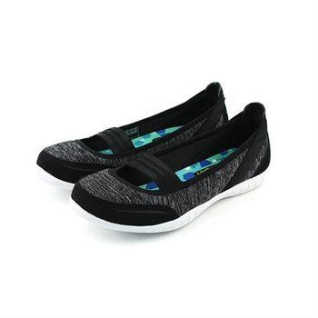 SKECHERS 布鞋 黑 女款 no378