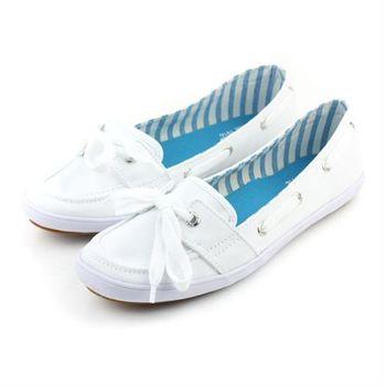 Keds 布鞋 白 女款 no193