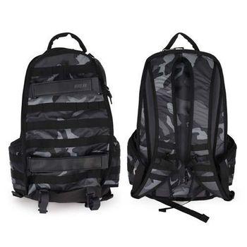 【NIKE】SB RPM GRAPHIC 後背包- 雙肩包 15吋筆電 黑灰