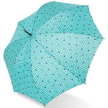rainstory雨傘-樂活點點(亮綠)抗UV自動開直骨傘