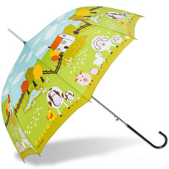 rainstory雨傘-開心農場抗UV自動開直骨傘