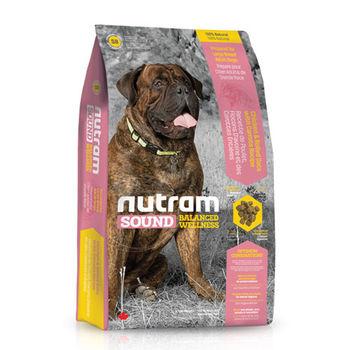 【Nutram】紐頓 均衡健康系列-S8大型幼犬雞肉蘋果 13.6公斤 X 1包