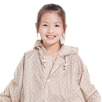 rainstory雨衣-卡其點點兒童連身雨衣