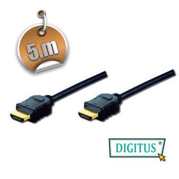 曜兆DIGITUS HDMI 1.4a圓線5公尺