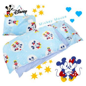 米奇 牽牽手 藍 兒童睡袋 標準