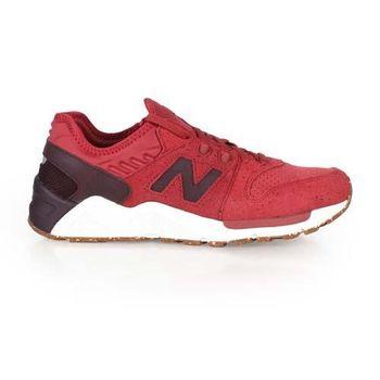 【NEWBALANCE】009系列 男復古休閒鞋 - NB N字鞋 紅