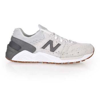 【NEWBALANCE】009系列 男復古休閒鞋 - NB N字鞋 灰白