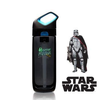 【美國KORwater】星際大戰系列夜光水瓶650ml-黑藍-法斯瑪隊長