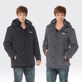 【SAMLIX山力士】JIS90%羽絨防潑水保暖外套#68611