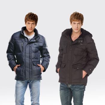 【SAMLIX山力士】JIS90%羽絨防潑水保暖外套#67312