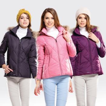 【SAMLIX山力士】JIS90%羽絨防潑水保暖外套#38012