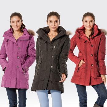 【SAMLIX山力士】JIS90%羽絨防潑水保暖外套#335