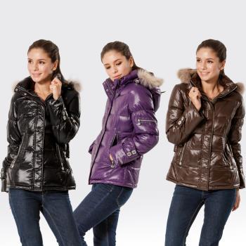 【SAMLIX山力士】JIS90%羽絨防潑水保暖外套#362