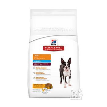 【Hill's】美國希爾思 成犬 體重控制 小顆粒 飼料 2公斤 X 1包