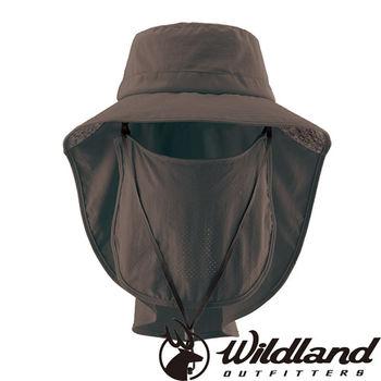 【荒野wildland】中性抗UV多功能遮陽帽