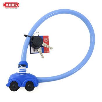 ABUS 德國防盜鎖 My First ABUS 1505 Kids 玩具汽車鎖頭單車鑰匙鎖-藍