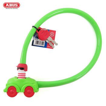 ABUS 德國防盜鎖 My First ABUS 1505 Kids 玩具汽車鎖頭單車鑰匙鎖-綠