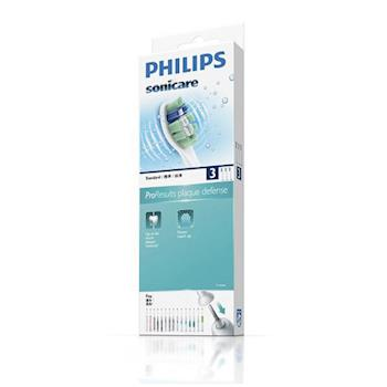 24H【飛利浦 PHILIPS 】清除牙菌斑刷頭HX9023(3入裝)