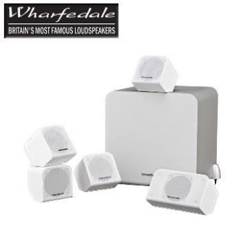 英國Wharfedale MS-100 5.1時尚視聽劇院組合 ( 鋼琴烤漆白 )