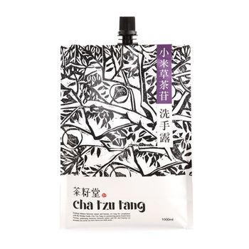 茶籽堂-小米草茶苷洗手露補充包
