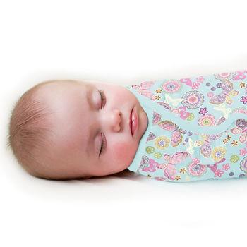 【美國Summer Infant】聰明懶人育兒包巾-繽紛蝴蝶