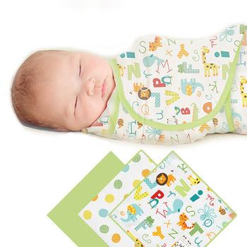 【美國Summer Infant】聰明懶人育兒包巾-字母動物園3入組
