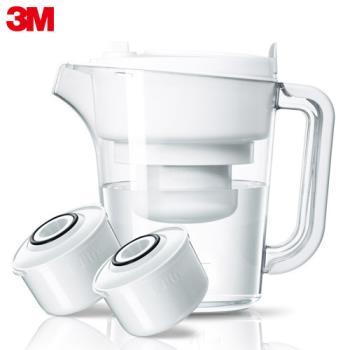 【3M】即淨長效濾水壺 WP3000(1壺+2濾心)