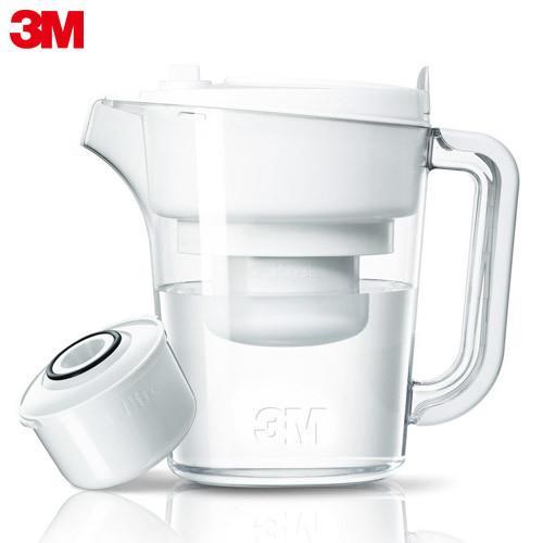 3M 即淨長效濾水壺WP3000-1壺+1濾心