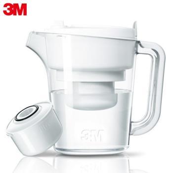 【3M】即淨長效濾水壺 WP3000(1壺+1濾心)