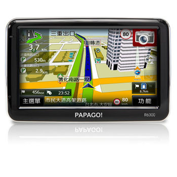PAPAGO! R6300高畫質多功能聲控導航機