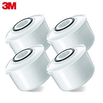【3M】即淨長效濾水壺專用濾心(4入裝)