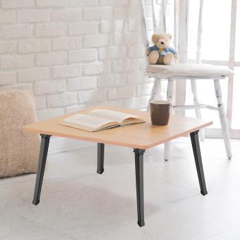 【樂活玩家】木紋圓角小茶几 60x60x30 cm