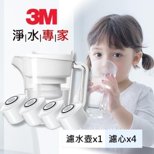 3M 即淨長效濾水壺—1壺+4濾心 WP3000