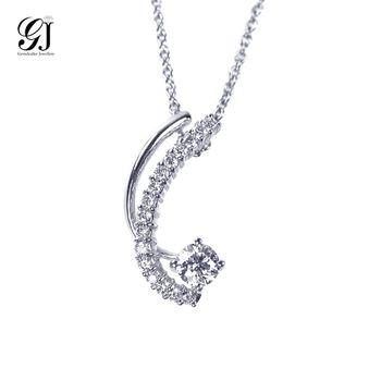 [晉佳珠寶] Gemdealler Jewellery 夢想成真 18K金鑽石墬飾 GIA 30分 D/VVS1 _預購[DN02-1]