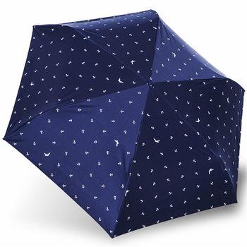 rainstory雨傘-航海圖抗UV降溫口紅傘
