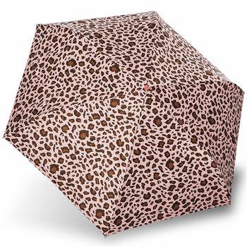 rainstory雨傘-粉紅豹紋抗UV降溫口紅傘